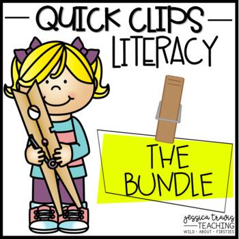 Quick Clips ~ LITERACY BUNDLE
