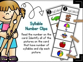 Quick Clips ~ Syllables