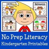 No Prep Common Core Literacy Bundle - The Complete Set (Kindergarten)