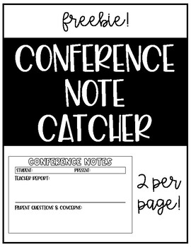 Quick Conference Notetaker