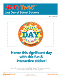 Stick'r Treat!™ Last Day Of School Stickers