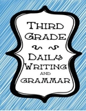 Quick Daily Writing Practice Worksheets for Third Grade Pr