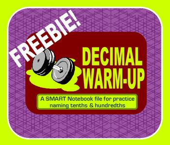 Quick Decimal Warm-Up!