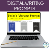 Short Digital Writing Prompts for Distance Learning #1