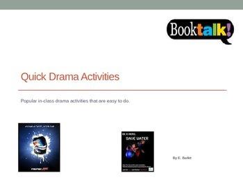 Quick Drama Activities