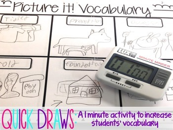 Quick Draws: Increase Your Students' Vocabulary