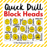 Quick Drill Block Heads {for any skill}