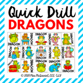 Quick Drill Dragons {for any skill}