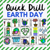 Quick Drill Earth Day for speech therapy or any skill drill