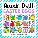 Quick Drill Easter Eggs {for any skill}