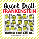 Quick Drill Frankenstein {for any skill}