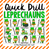 Quick Drill Leprechauns {for any skill}
