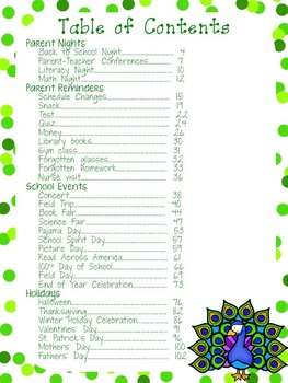 Quick & Easy Notes Home: Year-long Parent Correspondence