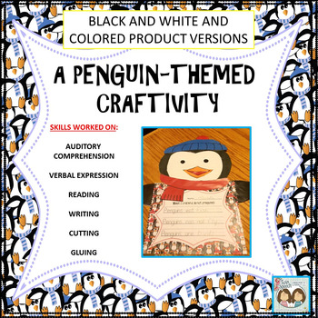 Quick & Easy Penguin-themed CRAFTIVITY!!
