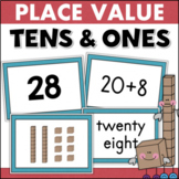 Place Value Centers and Games 2-Digit Numbers Tens and Ones