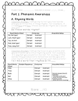 Quick, Easy, and Accurate RTI Baseline Assessment