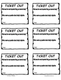 Quick Exit Tickets for Wrapping Up Your Lesson