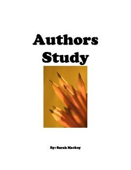 Quick Facts Author Study