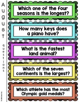 Quick Find Trivia Question Center
