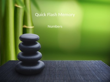 Quick Flash PowerPoint for memorizing numbers 1 - 10 Japanese & Chinese