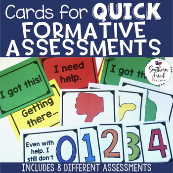 Quick Formative Assessment Cards