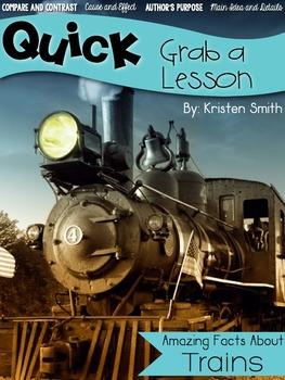 Quick! Grab a Lesson-- Trains
