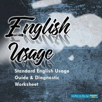 Quick Grammar Check: Usage--With Usage Guide for Students