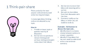 Quick Guide to Active Learning - 7 Ideas to Use Tomorrow