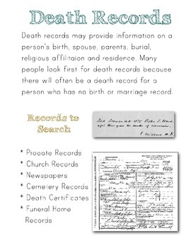 Quick Guide to Beginning Genealogy (Family History)
