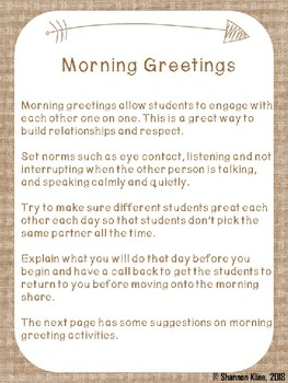 Quick Guide to Morning Meetings