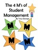 Quick Guide to Student Management, the 4M's of Classroom M