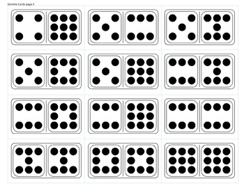 Quick Image Cards- A Variety of Dot Cards for Subitizing