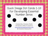 Quick Image Dot Cards 1-10 for Developing Essential Number Sense