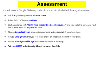 Quick Independent Reading Assessment