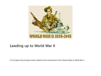 Quick Intro to World War II