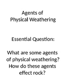 Quick Lab: Agents of Physical Weathering