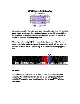Quick Labs - UV Radiation
