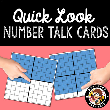 Place Value Number Talks Cards K-2