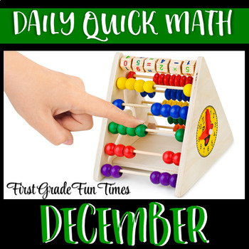 Quick Math - December Christmas Activities