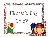 Quick Mother's Day Card Fun Activity