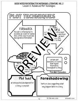Quick Notes®: LITERATURE, Vol. 2 for Interactive Notebooks