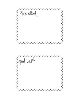 Quick Notes for Teachers