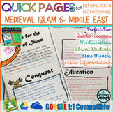 Quick Pages: Medieval Islam (Anchor Charts for Interactive
