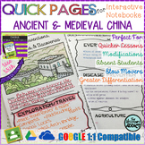Quick Pages: Middle Ages China (Anchor Charts for Interact