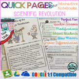 Quick Pages: Scientific Revolution (Anchor Charts for Inte