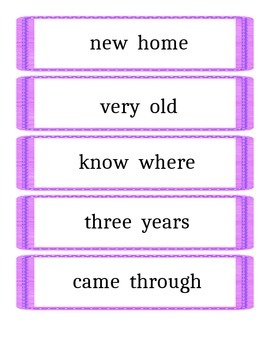 Quick Phrases- 2nd 100 Fry Words