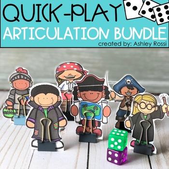 Quick Play Articulation BUNDLE