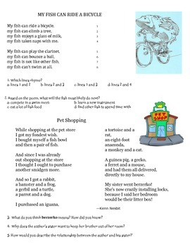Free 3rd grade Poetry Guided Reading Books Resources & Lesson ...
