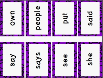 Quick Prep! Trick Word Cards ~ Levels One and Two ~ Bundle Saver