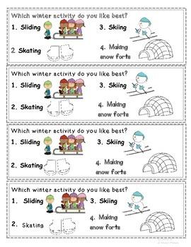 Quick Prep Winter Survey Questions